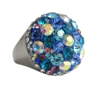 Ring Sunset blau