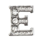 "Preview: Charm Buchstabe ""E"" mit Zirkonia"