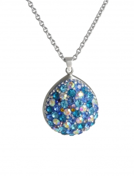Collier Sunset blau